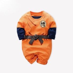 Аниме Одежда для новорожденных мальчиков; Костюм с принтом; Комбинезон для новорожденных; Комбинезоны для младенцев; Детская пижама; Одежда...