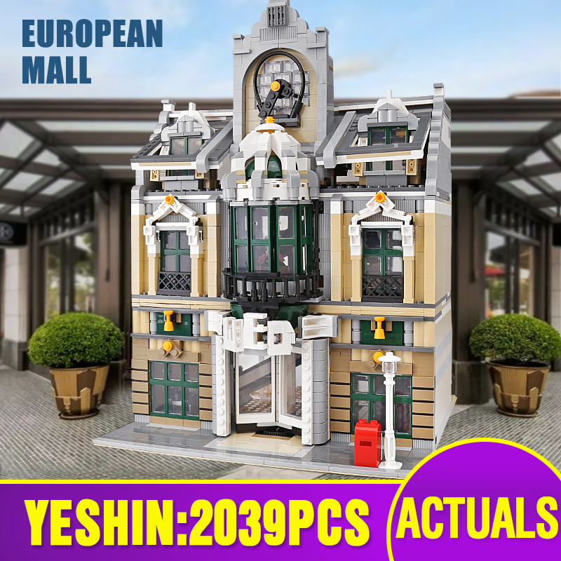 Lepining 15005 City Street Building Toys Compatible With 10211 Grand Emporium Set Building Blocks Bricks New Kids Christmas Gift