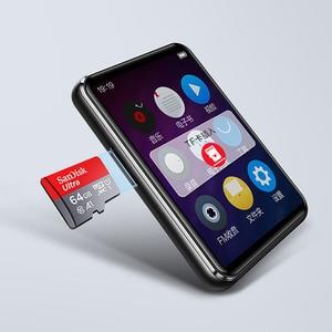 Image 5 - BENJIE X5 2.5 inç dokunmatik ekran Bluetooth5.0 MP3 oynatıcı dahili hoparlör desteği FM radyo kayıt Video e kitap MP3 oyuncu