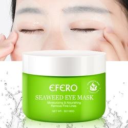 50Pcs Zeewier Hyaluronzuur Oogmasker Vel Cover Rond Ogen Patch Anti-Wallen Verwijderen Donkere Kringen Oogzorg huidverzorging