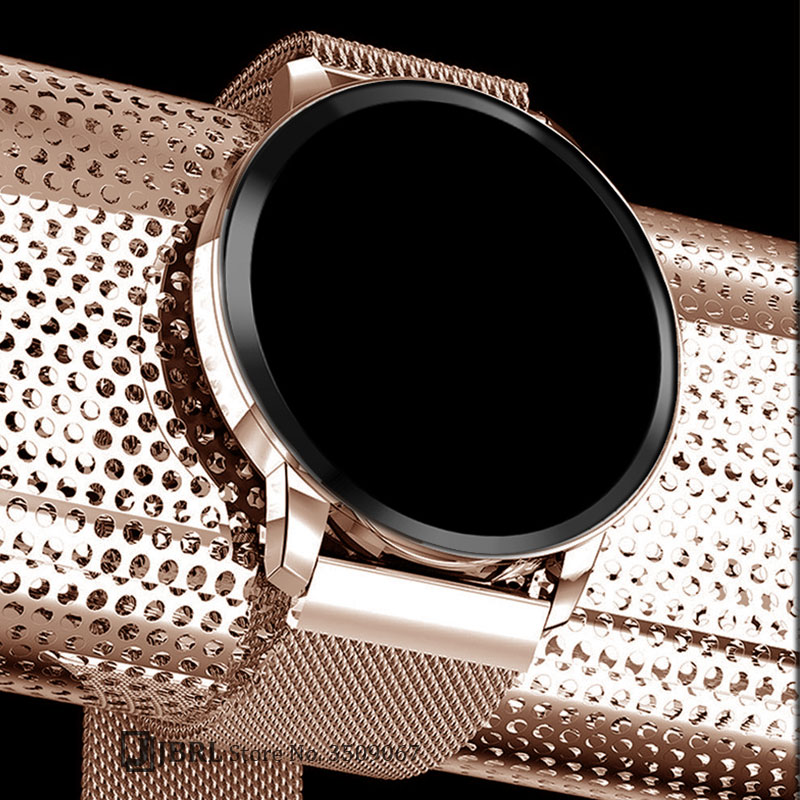 Stainless Steel Smart Watch Women Men Smartwatch For Android IOS Electronics Smart Clock Fitness Tracker Top New Smart-watch