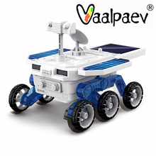 Solar Power Electric Car Gaget Toyselectral Science Toys STEM Assembled Kit Educational Mars Planet Rover Astronomy Boys Gift
