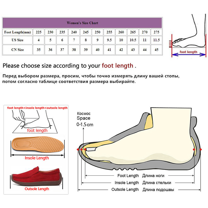 Fashion New Women Flats Casual Loafers Slip On Shoes Lady Big Size 40 41 42 wo19047 in Women 39 s Flats from Shoes