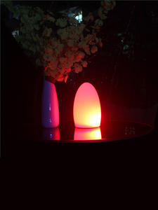 Egg-Lamp Night-Light Rechargeable Waterproof And LED for Hotel Restaurant 50pcs/Lot 11x19cm