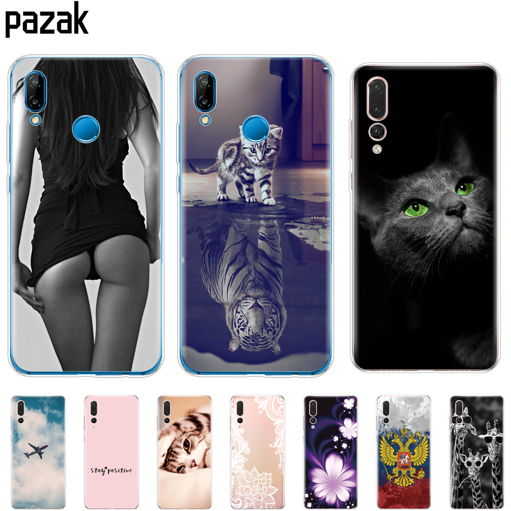 Silicone Phone Case For Huawei P20 LITE Cases Covers For Huawei P20 Pro Phone Back Cover For HuaweiP 20 Lit Coque Etui Clear