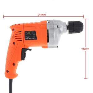 Image 3 - 220V 710W High Power Handheld Electric Drill with Rotation Adjustment Switch and 10mm Drill Chuck for Handling Screws