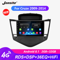 Jansite 9 Android Car Radio For Chevrolet Cruze 2009 2014 RDS DSP player Touch screen R9 R5 Multimedia video player with CANBUS