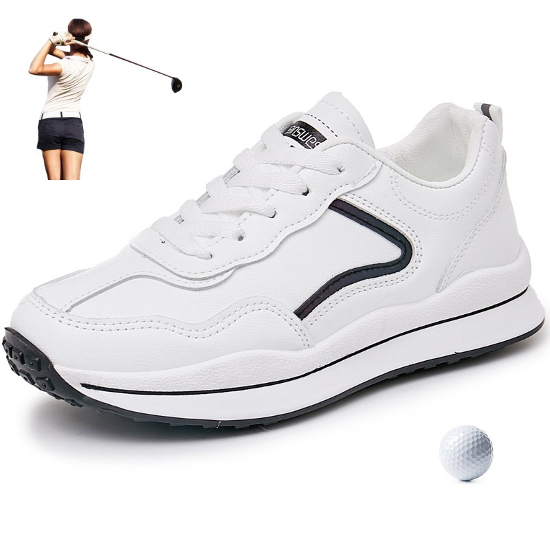 Shoes Women Sneakers Golf Designer Breathable Grass Walking Shoes Woman Leisure Golfing Shoes Luxury Outdoor Sport Trainers