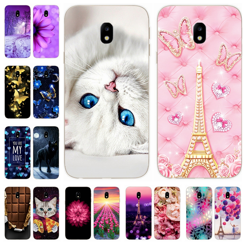 Protector bumper Cover For <font><b>Samsung</b></font> Galaxy J3 <font><b>2017</b></font> Case TPU Silicone Coque for Galaxy J3 <font><b>2017</b></font> J330 <font><b>J330F</b></font> Cover Mobile Phone Bags image