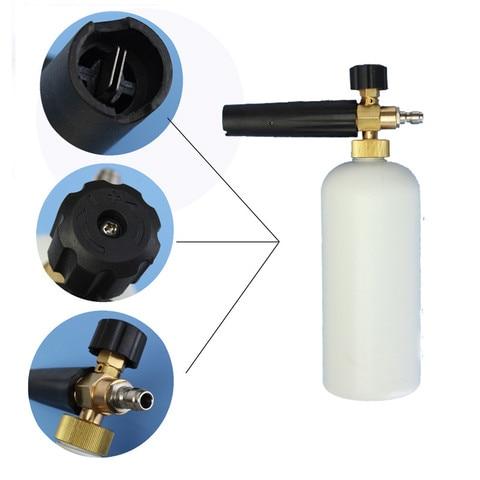 lanca de espuma ajustavel maquina de lavar sabao garrafa de lavagem de carros 1 4