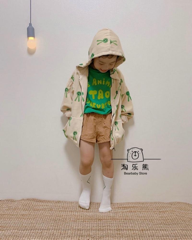 Hot Sale Kids T-shirt 2021 Boys Clothes Girls Sweatshirt Autumn Winter Tao The Animals Cotton Soft Printed Baby Girl Tops Shirt 6