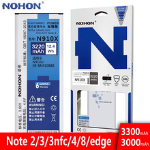 NOHON Battery For Samsung Galaxy Note 2 3 4 8 Edge Note8 N9500 Note4 N9100 N910X Note3 NFC N9000 Note2 N7100 Original Bateria(China)