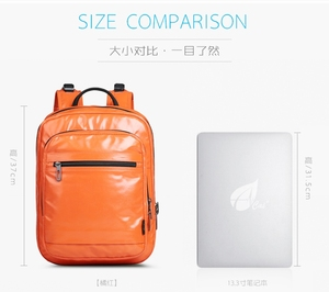 Image 4 - CAI 2019 PU Leather Female Backpack Bag for Women designer Zipper School Shoulder Bags Travel Sport back pack Girl Fashion