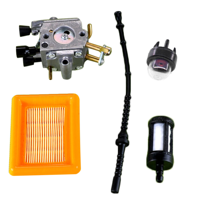 Carburetor Air Fuel Filter Kit Fits For STIHL FS400 FS450 FS480 String Trimmer High Quality Free Shipping