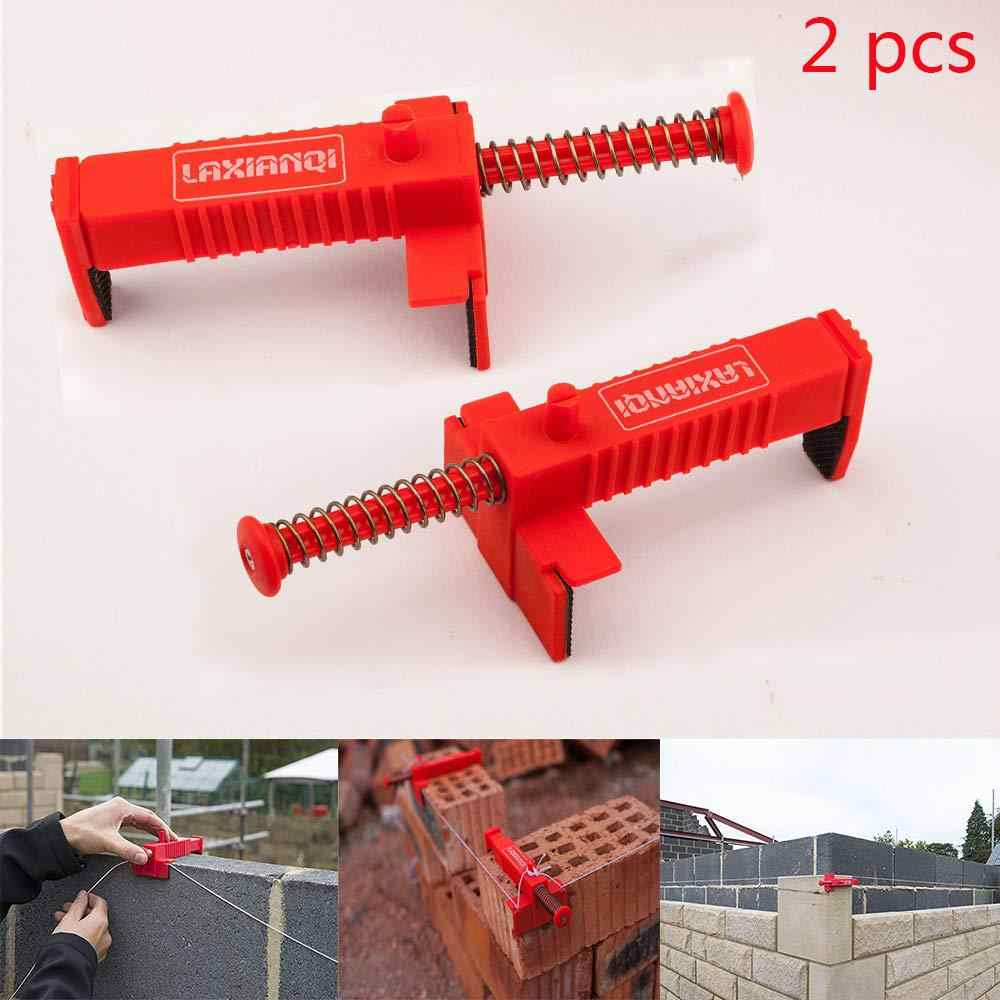 2 Stuks Draad Lade Bricklaying Tool Fixer For A Building Fixer For A Bouw Armatuur Brickwork Metselaar Bricklaying