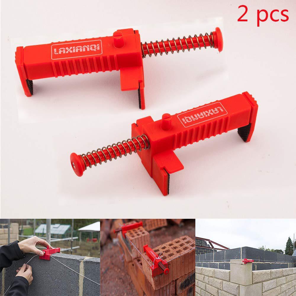 2 Stuks Draad Lade Bricklaying Tool Fixer Voor Building Fixer Voor Bouw Armatuur Brickwork Metselaar Bricklaying