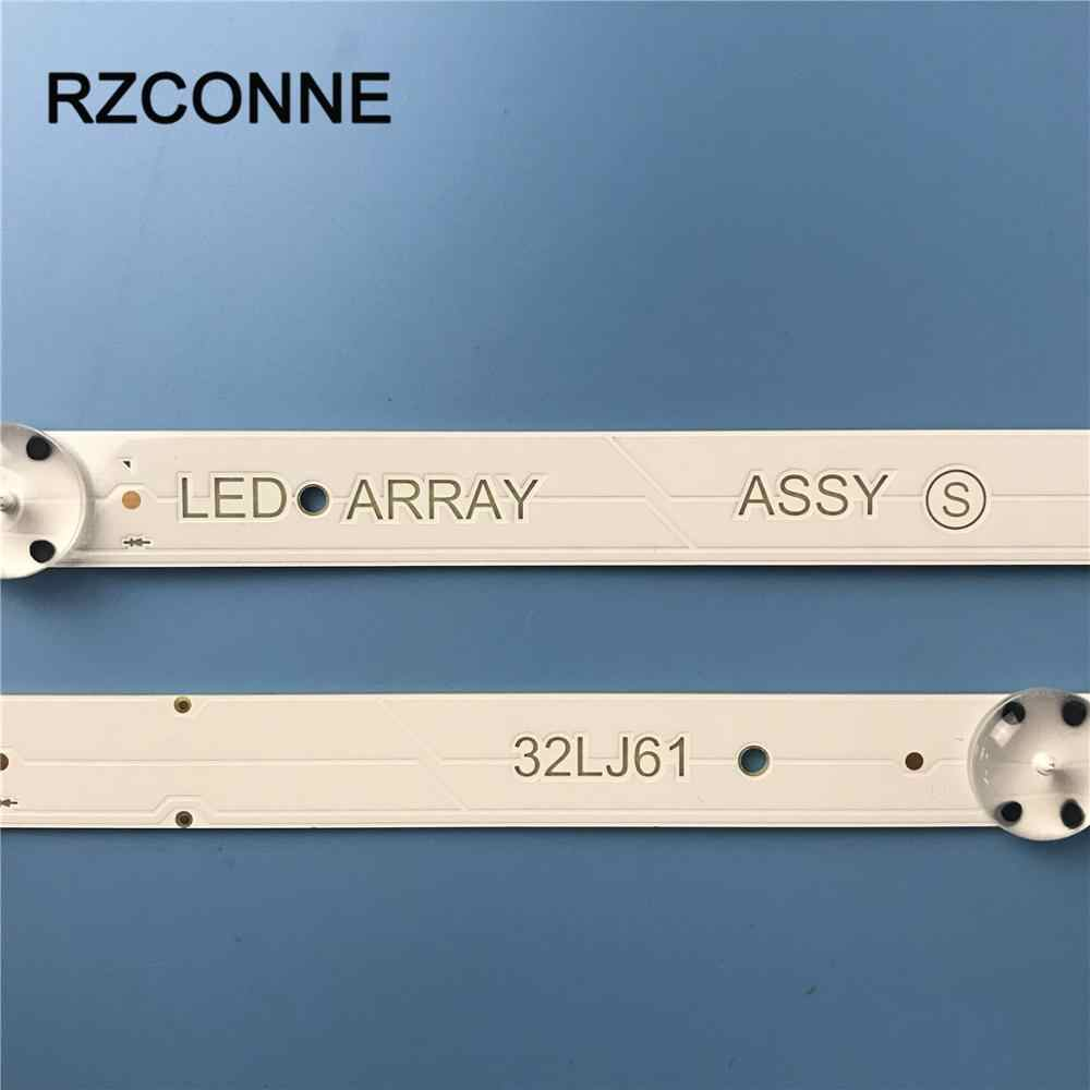 Bộ 2 Dây Đèn LED 5 Bóng Đèn LED Array 32LJ61 SSC_32LJ61_BOE(FHD)_ 5LED_161117 EAV63632401 Cho LG HC320DUN-ABSL1-A14X 32LJ610V-ZD