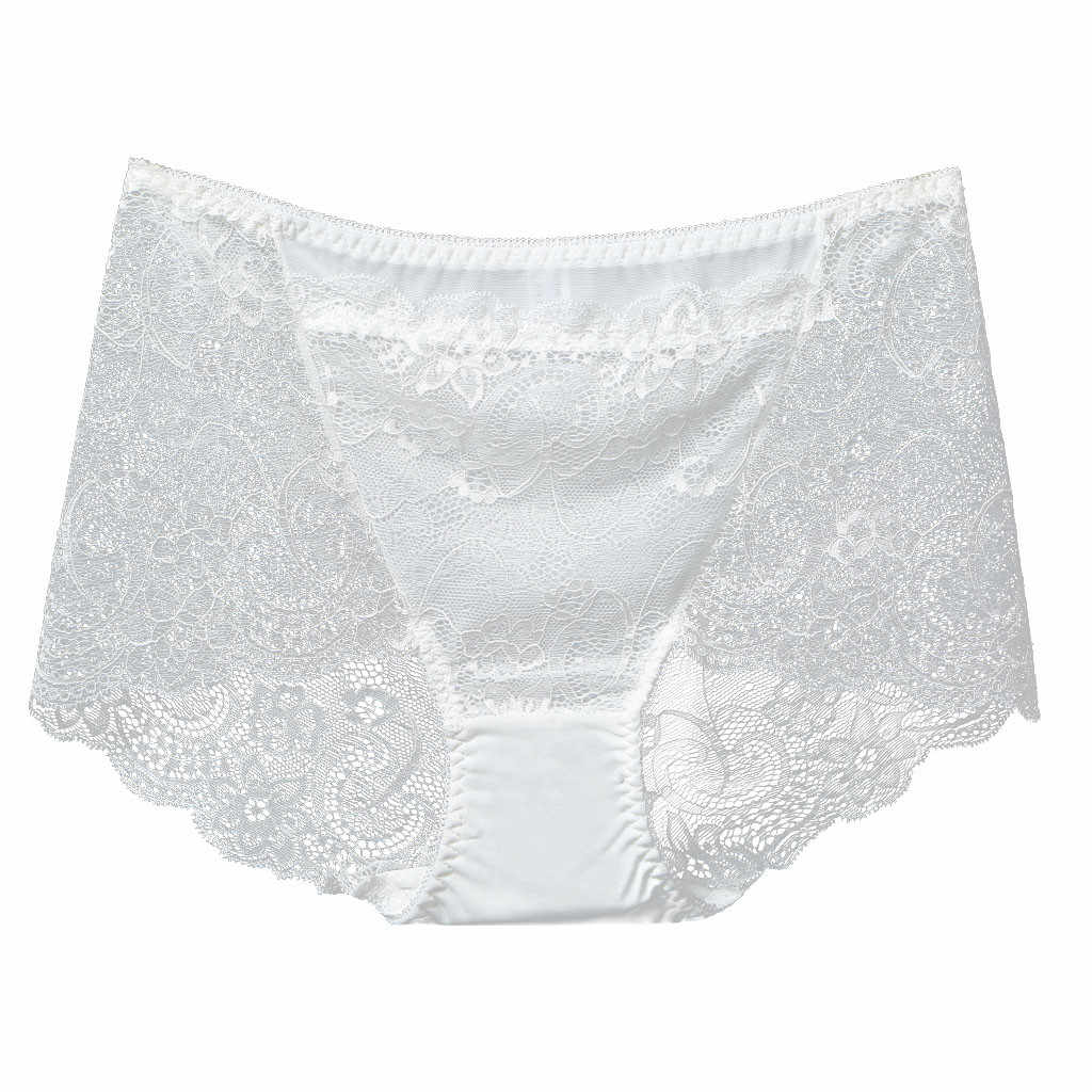 Jaycosin Ademend Hollow Out Slipje Hoge Taille Kant Sexy Ondergoed Vrouwen Zachte Naadloze See-Through Sexy Slipje Voor vrouw