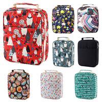 150-Slot Grote Capaciteit Gekleurde Etui Cartoon Bag Pen Box Art Supplies