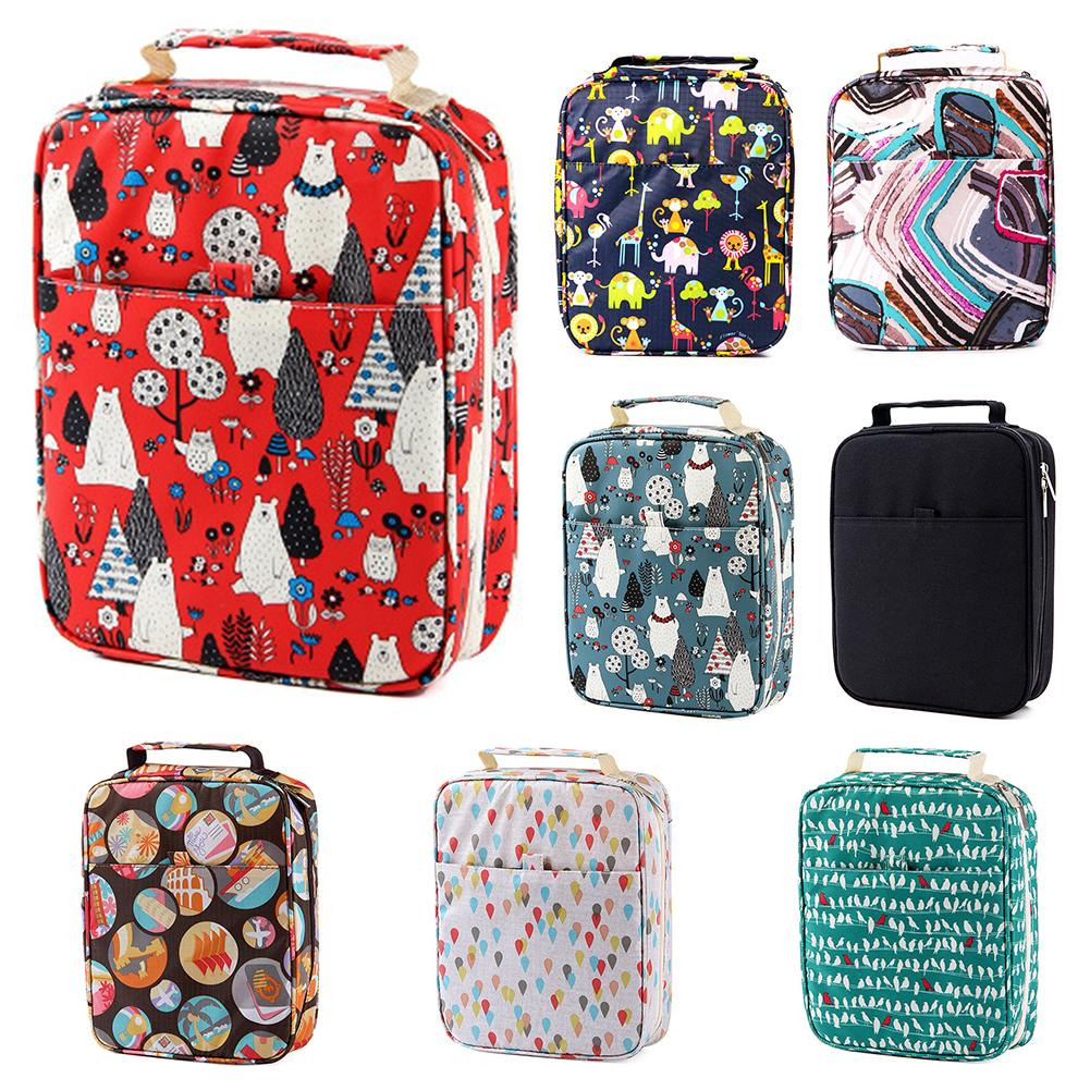 150-Slot Large Capacity Colored Pencil Case Cartoon Bag Pen Box Art Supplies