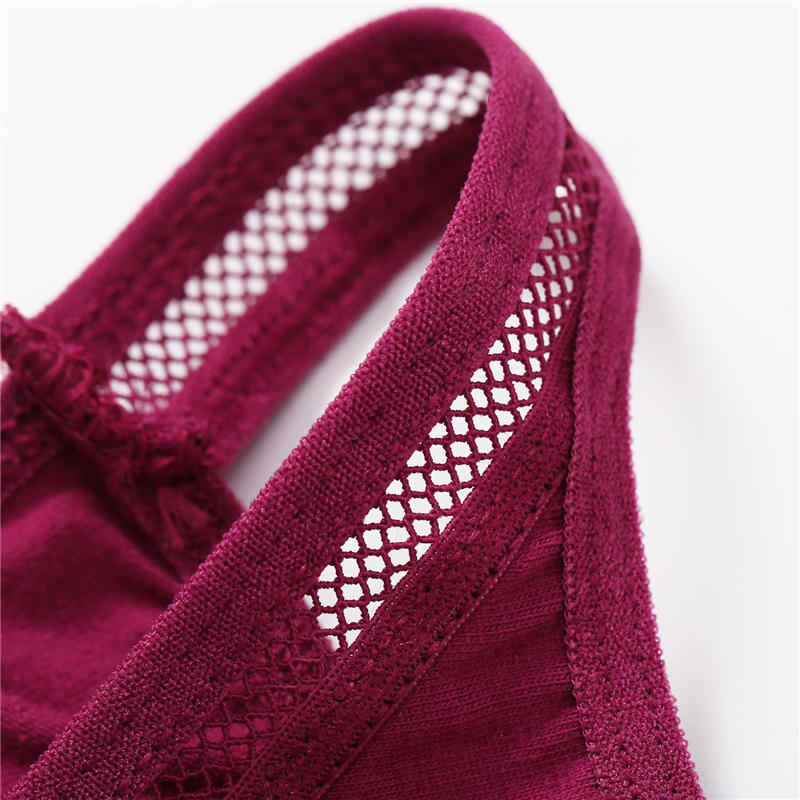 ملابس داخلية مثيرة للنساء سراويل داخلية دانتيل للنساء سراويل داخلية نسائية حجم كبير سراويل داخلية قطنية منخفضة الخصر سراويل شبكية مفرغة