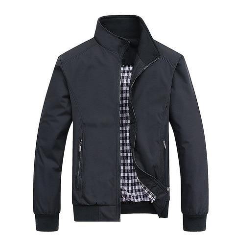New 2019 Jacket Men Fashion Casual Loose Mens Jacket Sportswear Bomber Jacket Mens jackets and Coats Plus Size M- 5XL Multan