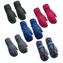 KLV Unisex Girls Boys Adult Winter Warm Gloves Full Fingers