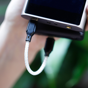 Image 3 - نسخة جديدة شانلينغ L2 Type C إلى المصغّر USB Hifi الصوت ديكورد كابل ل MChord MOJO M2s M1 DAP الهواتف المحمولة واللاعبين