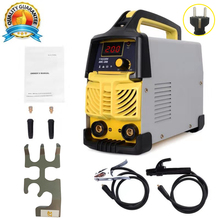 Welder,200A ARC MMA Welding Machine IGBT 50-60HZ Digital  LCD Hot Start 80% Cycle  With Free Accessories
