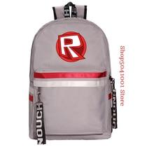 Canvas Teenagers Backpack Kids Children School Bags Travel Shoulder Robloxer Bag Unisex Laptop Bags цена в Москве и Питере