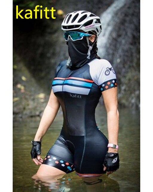 2020-kafitt-pro feminino corrida triathlon camisa de uma peça vestido pequeno macaco manga curta terno roupas de trabalho ciclismo gel 4