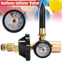 Helium Latex Balloon Air Inflator Regulator with Pressure Gauge for G5/8 Tank Valves 3000PSI Pressure Reducer