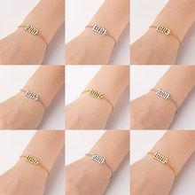 Year Number 1PC Personalized Special Date Hot Sale Women From 1980 To 2000 Bracelets Fashion Jewelry Popular High Quality(China)