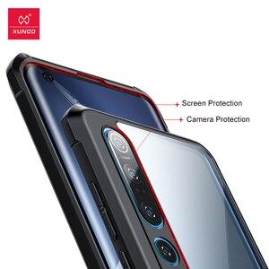 Image 4 - Funda protectora XUNDD para Xiaomi Mi 10, a prueba de golpes, Parte posterior transparente, para Mi 10 Pro, Mi 9 Lite, Redmi 8A, mochilas