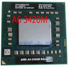 AMD CPU portable A6 3420M, AM3420DDX43GX A6, processeur de 3420M, 3400m, livraison gratuite