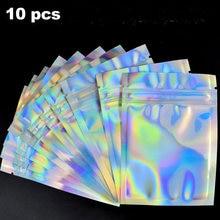 10 шт/набор голографические коробки для упаковки ресниц