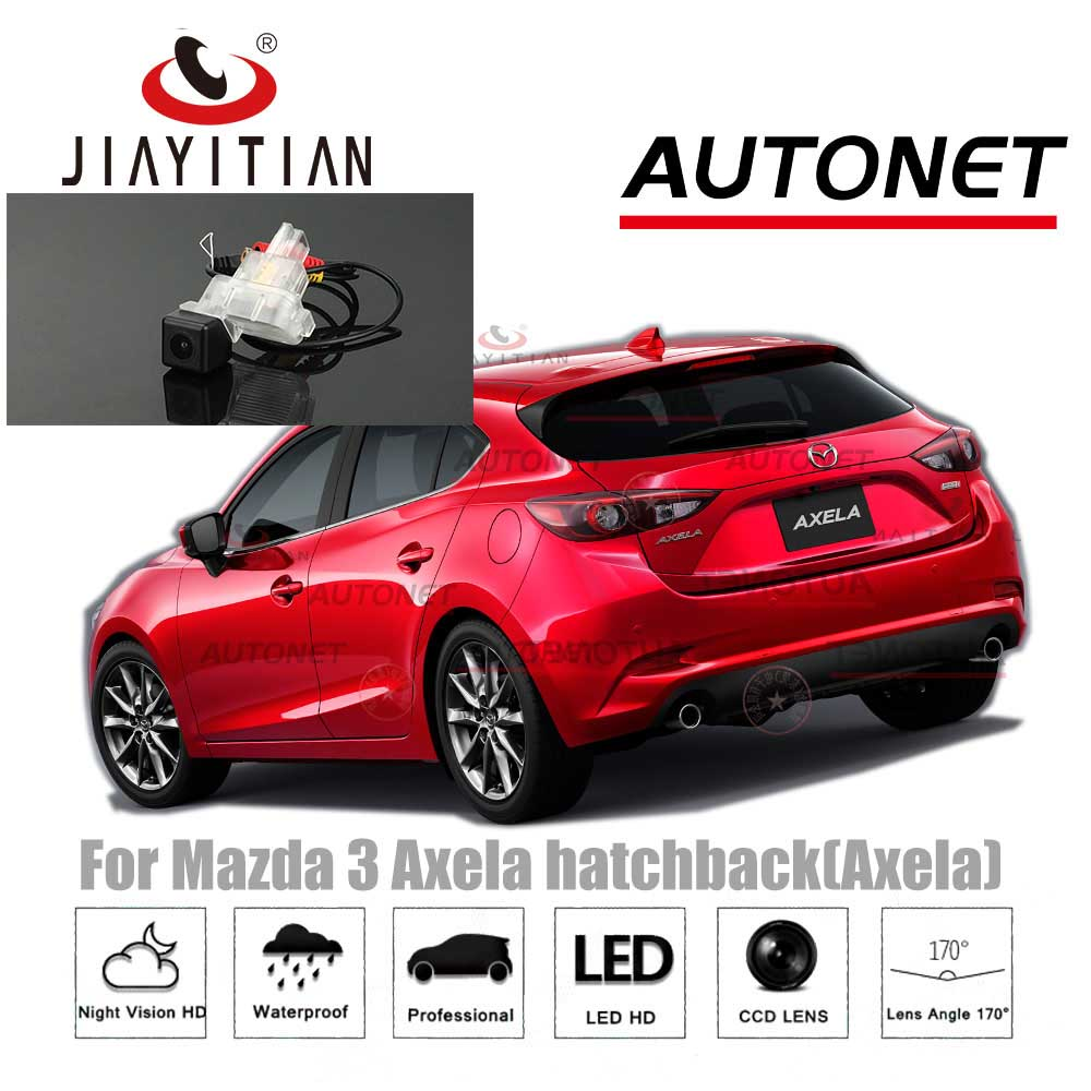 JIAYITIAN Rear View Camera For Mazda 3 Axela Hatchback 2014 2015 2016 2017 2018/6V Camera CCD/Night Vision/Reverse Backup Camera