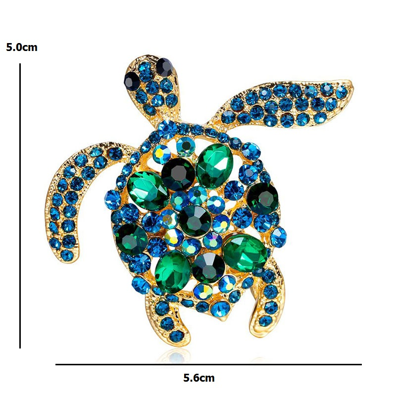 DTWAWA Broche Animal Set Broche de Diamantes de Imitaci/ón Color Regalo de Damas