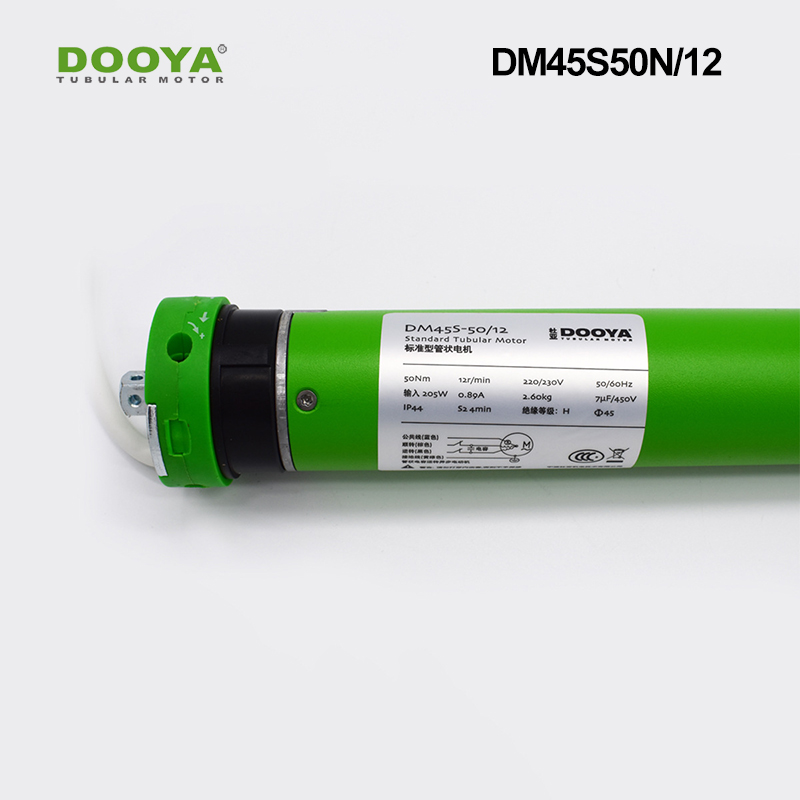 Dooya 45 Four-Wire Tubular Motor Suitable For Smart Home System For Roller Blinds Zebra Shades DM45S50N/12