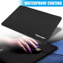 TeckNet L XL Gaming Mouse Pad 32x25cm 45x33cm Computer Mat Office Home Gamer Waterproof Mousepad Desk for