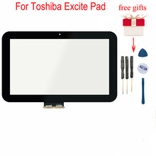 For Toshiba Excite Pad AT10 AT10-A-104 AT10LE-A-109 AT10LE-A-108 69.10128.G02 Touch Screen Digitizer Sensor Glass(China)