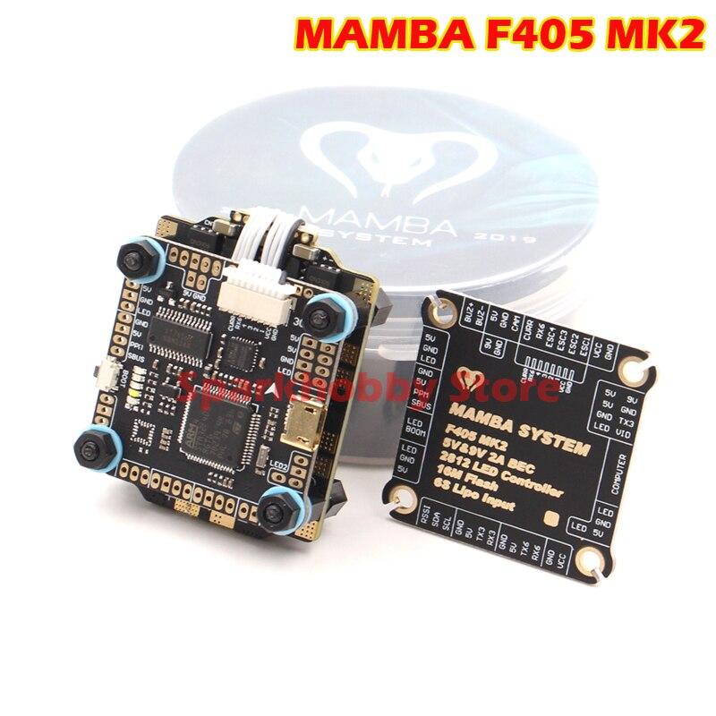 Diatone MAMBA F405 MK2 Betaflight controlador de vuelo F40 40A 3-6S DSHOT600 FPV course Drone Racer sin escobillas ESC