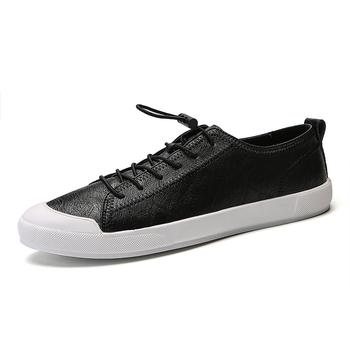 Białe męskie buty na co dzień wiosenne skórzane mieszkania oddychające wsuwane buty designerskie mokasyny męskie wsuwane mokasyny 2020 nowe tanie i dobre opinie MINUSIKE Skóra Split Gumowe 1 181609 Lace-up Pasuje prawda na wymiar weź swój normalny rozmiar Podstawowe Stałe Oddychająca