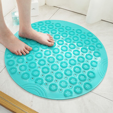 Antiskid Bathroom Carpet Mat PVC Bathroom Mat Bath Mat Foot Massage Mat Shower Leachate Toilet Mats Bathroom Accessories 55x55cm цена 2017