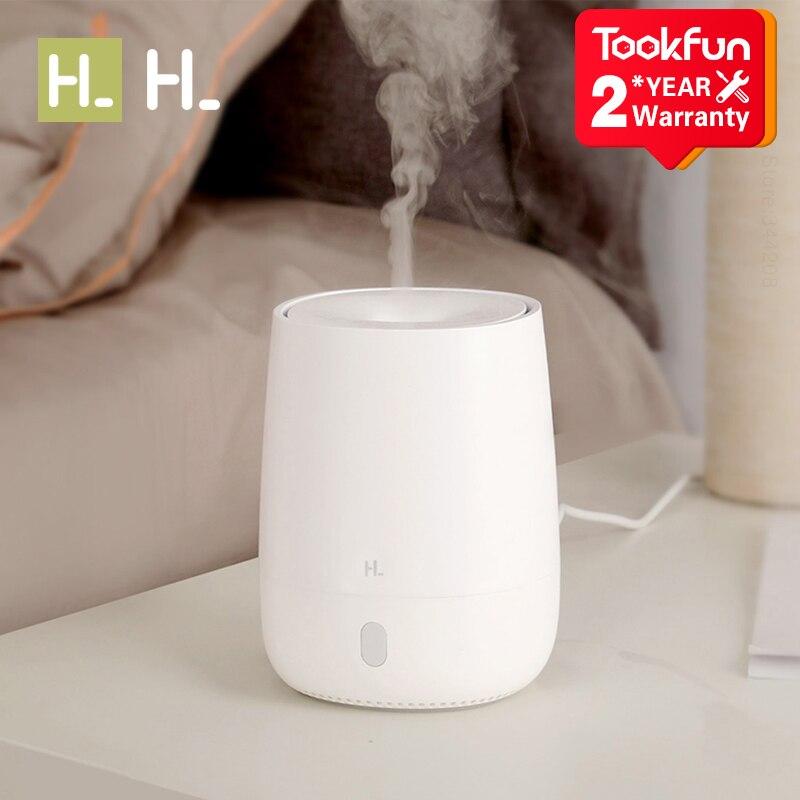 XIAOMI MIJIA HL aromaterapi difüzör nemlendirici hava damperi aroma difüzör makinesi uçucu yağ ultrasonik Mist Maker sessiz