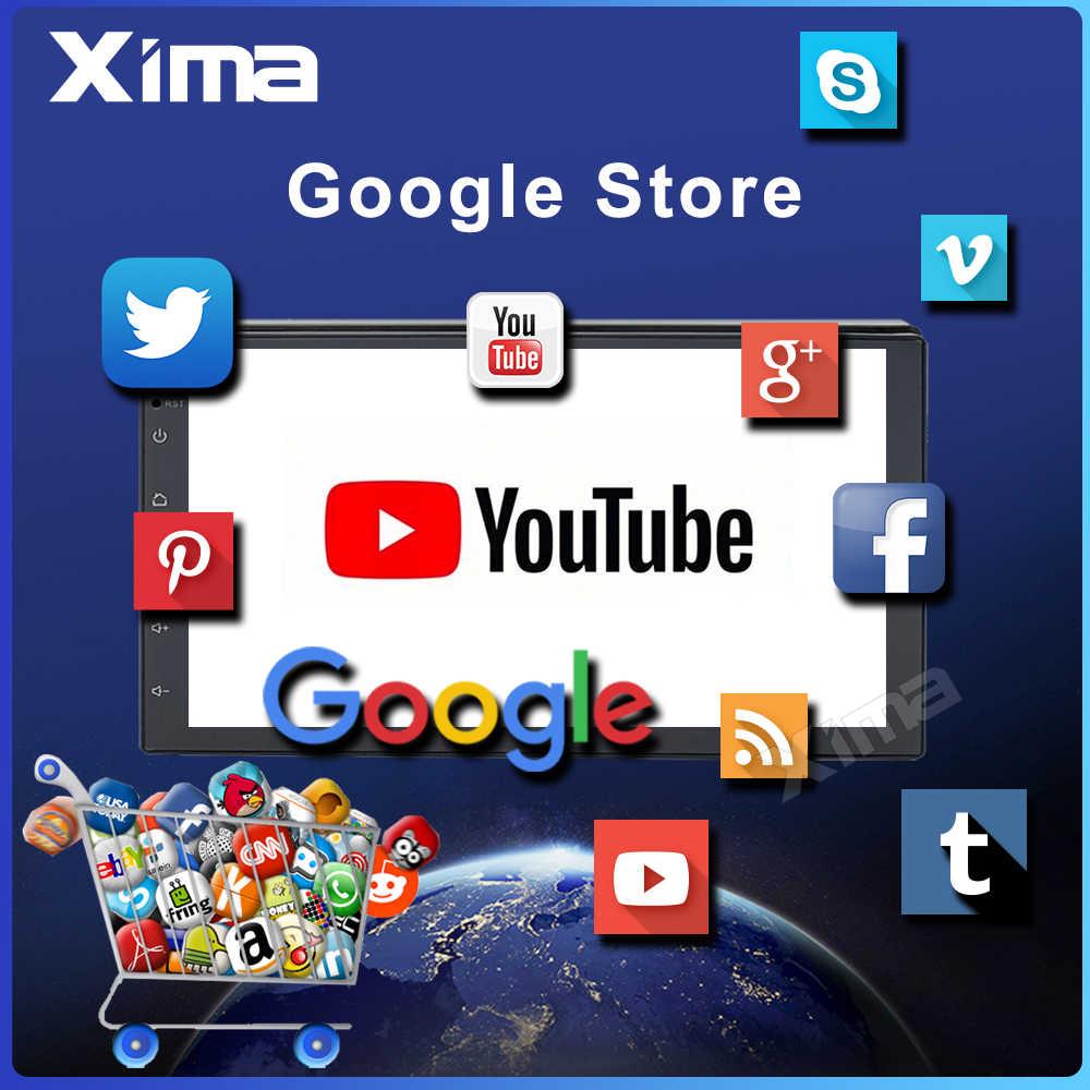 XIMA RAM 2G araba Android 8.1 2 Din araba otomobil radyosu multimedya oynatıcı Toyota Nissan Kia VW hyundai Ford hiçbir 2in dvd araba dvr'ı