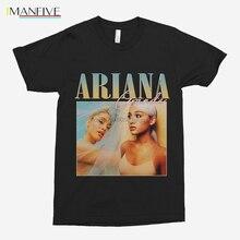 Men T shirt VINTAGE Ariana Grande Vintage 90s design black unisex t-shirt  tshirt