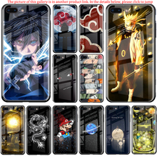 Marvel Lichtgevende Glas Case voor Samsung S8 S9 S10 Plus Note 8 9 10 Pro Back Cover Backshell voor iPhone X XS MAX XR 6 6s 7 8 FUNDA