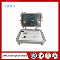 Catv outdoor fiber optical node 4 outputs AGC Optical Receiver 220V