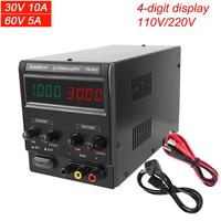 Newest DC Lab Power Supply 30 V 10A Digital Switching Adjustable Power Source 60V 5A Bench Power Supplies Voltage Regulator